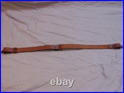Vintage Original Marlin Rifle Sling Leather Remington Colt