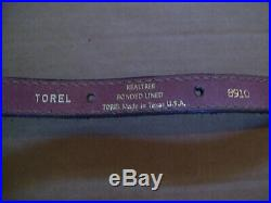 Vintage Torel 8910 Realtree Rifle Sling with Thumb Hole & Cartridge Loops