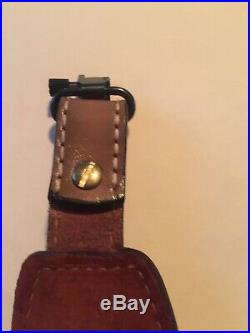 Vintage Torel Leather Whitetail Rifle Sling Made In USA Model 4748