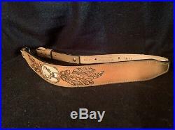 Vintage Torel Top Grain Cowhide Leather Buck Deer Rifle Gun Sling # 4792 USA