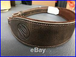 WEATHERBY adjustable Leather sling with a set of swivels-WorldWide ship