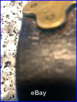 WW1 US Leather Rifle Sling Hallmarked JB 1918