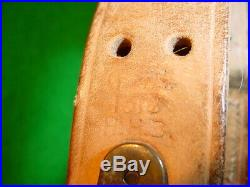 WW1 US M1903 or M1917 Rifle Leather Sling, 1918 Dated