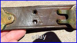 WW1 US Springfield Garand M1 Rifle M1907 leather sling 1918 M1903A1 M1903