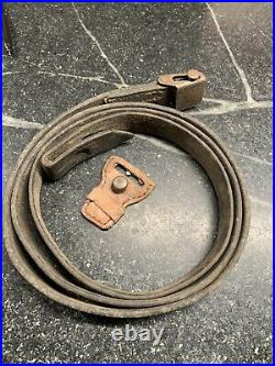 WW2 German K 98 Rifle Leather Sling