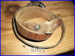 WW2 German sling MP Leather Rifle Sling