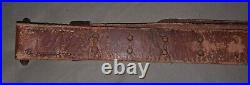 WW2/WW1 M1 Garand M1907 Hunter Leather Rifle Sling Springfield 1903