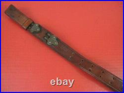 WWII Era US ARMY AEF M1907 Leather Sling for the M1Garand Rifle Boyt -44- NICE