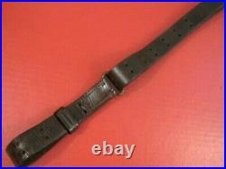 WWII Era US ARMY AEF M1907 Leather Sling for the M1Garand Rifle Very Nice #2