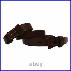WWII German Mauser 98K Rifle Sling K98 Mid Brown Repro x 10 UNITS S055