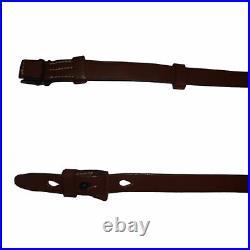 WWII German Mauser 98K Rifle Sling K98 Mid Brown Repro x 10 UNITS j109