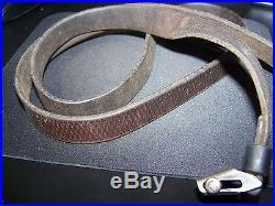 WWII Leather German K98 Rifle sling Original