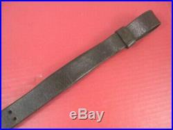 WWI Era US ARMY AEF M1907 Leather Sling M1903 Springfield Rifle No marking #1