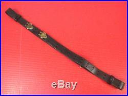 WWI Era US ARMY AEF M1907 Leather Sling M1903 Springfield Rifle No marking #3