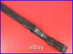 WWI Era US ARMY AEF M1907 Leather Sling M1903 Springfield Rifle No marking #4