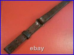 WWI Era US ARMY AEF M1907 Leather Sling M1903 Springfield Rifle Very Nice #1