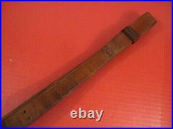 WWI Era US ARMY AEF M1907 Leather Sling M1903 Springfield Rifle Very Nice #4