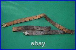 WWI Era US Leather Sling 1903 Springfield Rifle