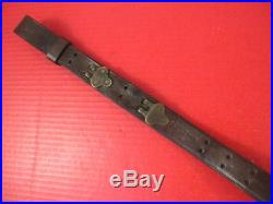 WWI US ARMY AEF M1907 Leather Sling M1903 Springfield Rifle Chicago Belting Co