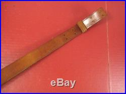 WWI US ARMY AEF M1907 Leather Sling M1903 Springfield Rifle Dated 1918 NICE