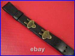 WWI US ARMY AEF M1907 Leather Sling M1903 Springfield Rifle Dtd 1917 NICE