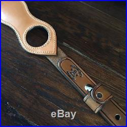 Western Americana SASS Cowboy Action RROW TOOLED SPORTING RIFLE SLING #3