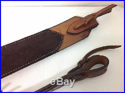 Westley Richards & Co. Leather Rifle Sling 2 Tan No Swivels FREE SHIPPING