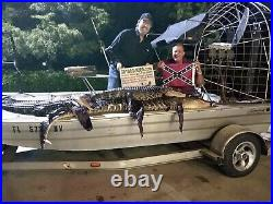 Wild Alligator Rifle shotgun Shoulder Sling Strap gator leather Skin Hide AP20