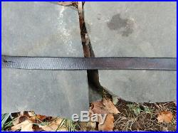 Wwii German K98 98k Rifle Leather Sling Original Koch & Benning Wuppertal